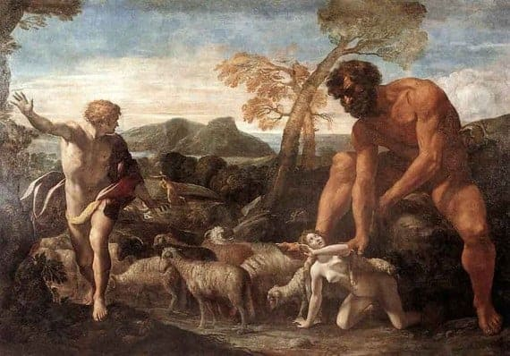 Giovanni Lanfranco Norandino and Lucina Discovered by the Ogre