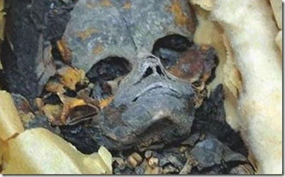 Extraterrestrial Mummy Found In Egypt